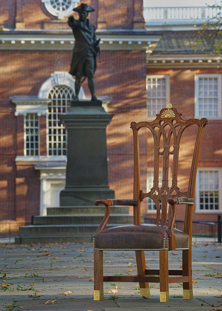 Wondrous Rising Sun Chair Independence Hall Reproduction Furniture Ocoug Best Dining Table And Chair Ideas Images Ocougorg