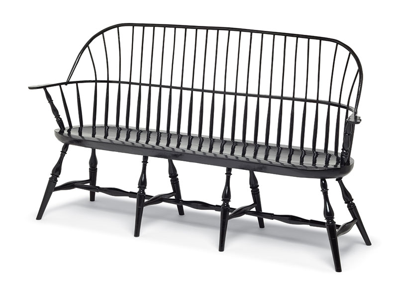 Sack-back Windsor Bench