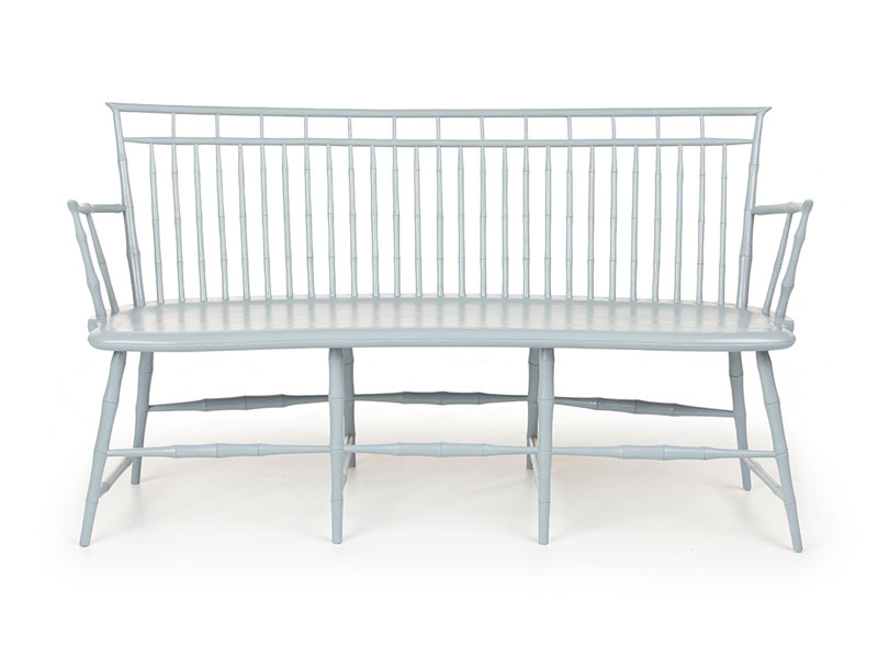 Rod-back Birdcage Bench