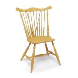 Fan-back Windsor side chair