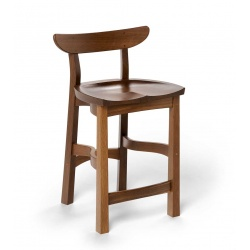 Fumed Oak chair