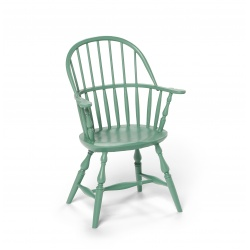 Green Toddler Sack Back Windsor Chair
