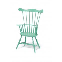 custom green Toddler Comb Back Windsor Chair