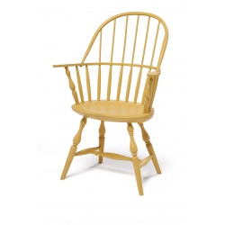 Yellow Kids Sack Back Windsor Chair