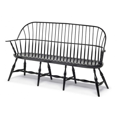 black sack back Windsor bench