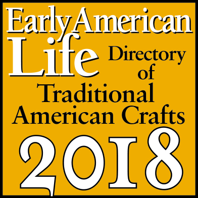Early American Life Traditional American Crafts logo 2018