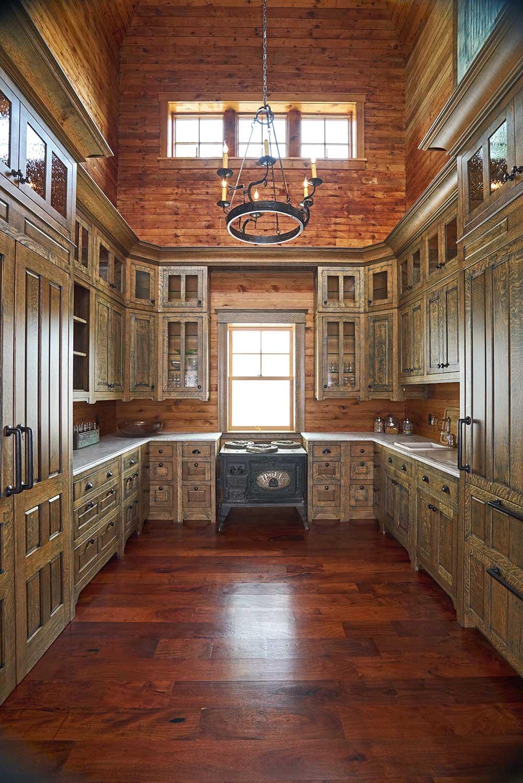 Bdg Style Idaho Project Kitchen: Greene And Greene Kitchen