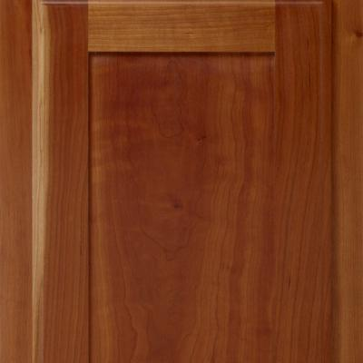 lacquered cherry kitchen cabinet door